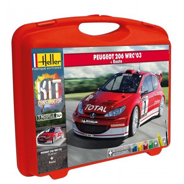 MALLETTE PEUGEOT 206 WRC '03 + PISTE