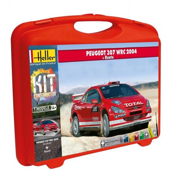 MALLETTE PEUGEOT 307 WRC '04 + PISTE