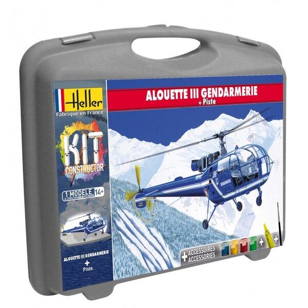 Mallette Alouette III Gendarmerie + Piste