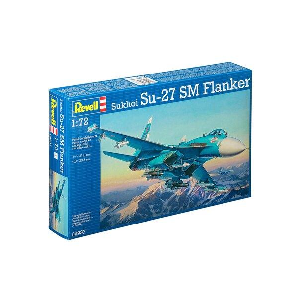 Sukhoi Su-27 SM Flanker - kit tout inclus