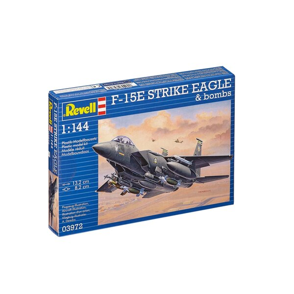 F-15E STRIKE EAGLE & bombs - kit tout inclus
