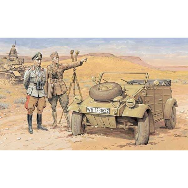 Kübelwagen DAK et Officiers