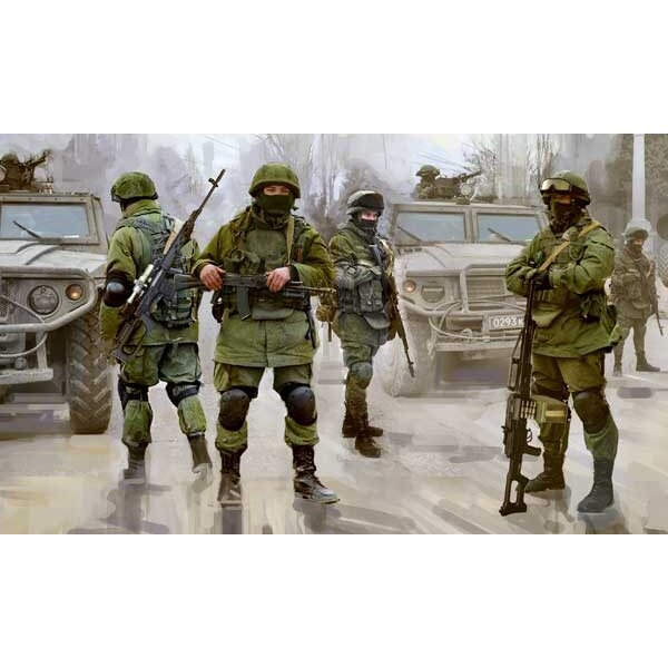 Infanterie Russe moderne