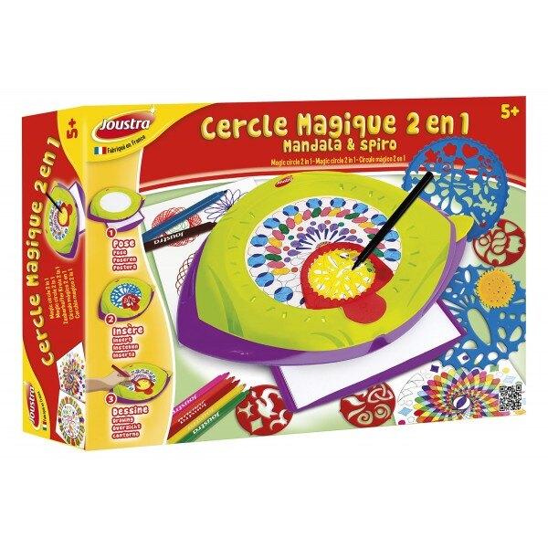 Círculo mágico 2 EN 1: Mandala y SPIRO