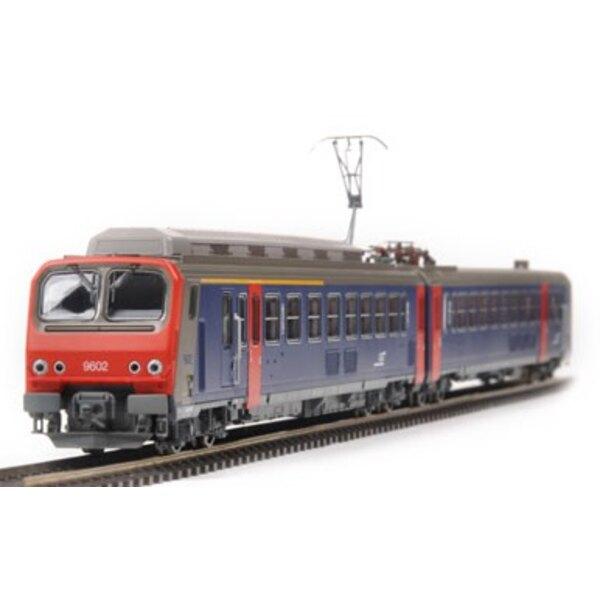 Automotrice Z9602 AC 3 rails