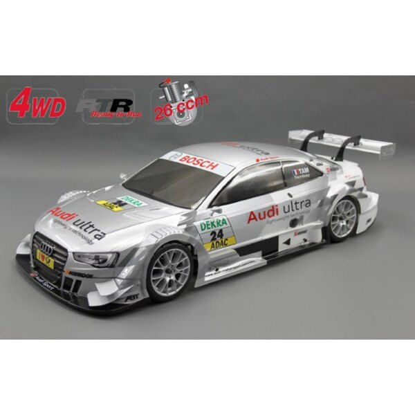 Chassis 4wd 530 RTR + car. Audi RS5