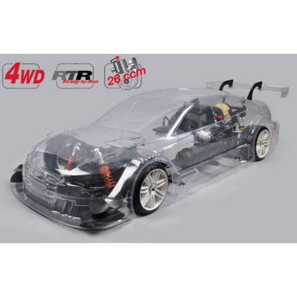 Chassis 4wd 530 + carro. Audi RS5