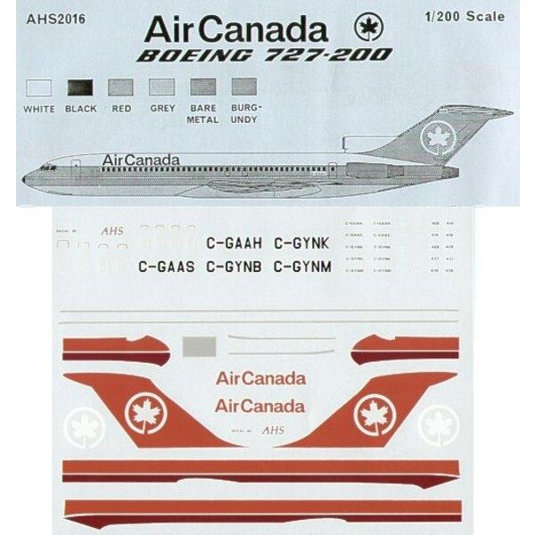 Boeing 727-200 Air Canada