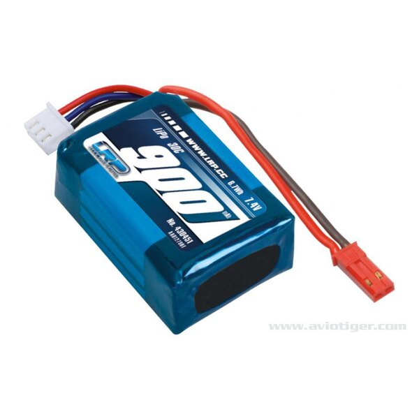 PACK LIPO 900 7.4V 30C DEEP BLUE ONE 340