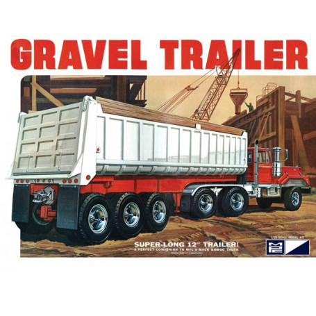 Axle Gravel trailer