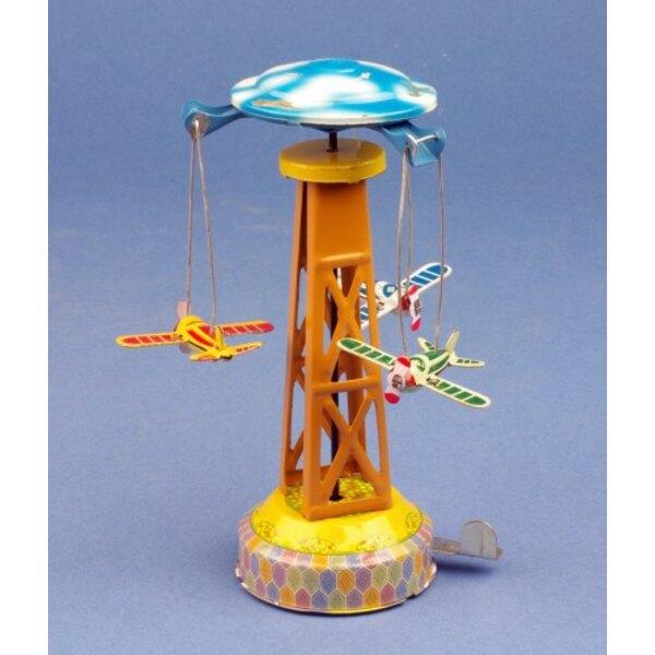 Carousel monoplane toy train / Carousel monoplane