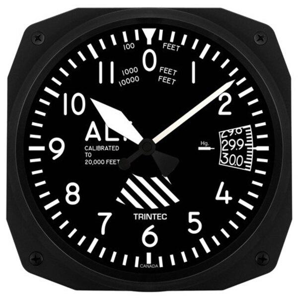 Altímetro Reloj de pared 25x25cm