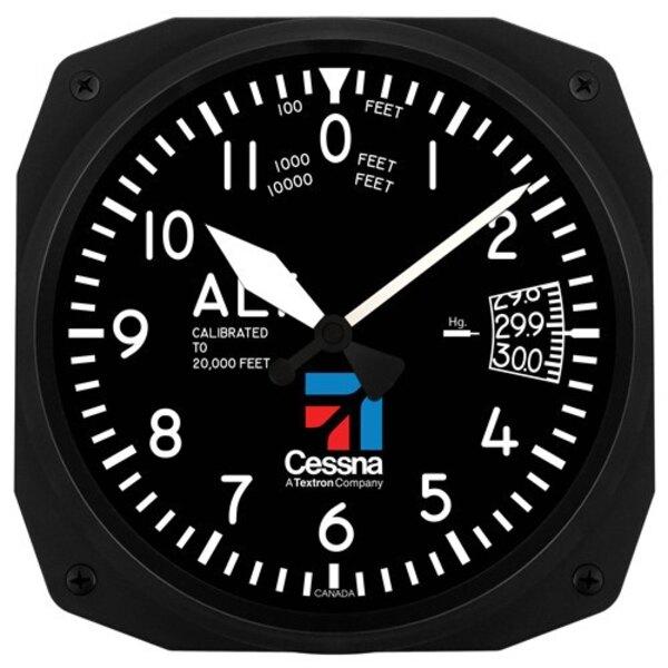 Cessna altímetro pared reloj 25x25cm