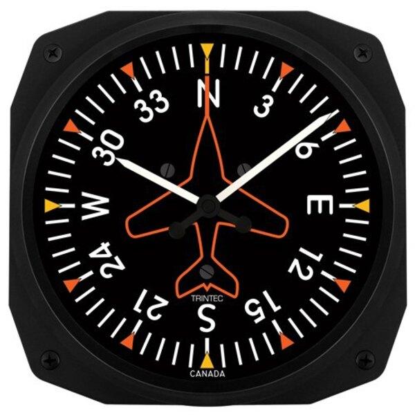 Direccional Gyro pared reloj 25x25cm