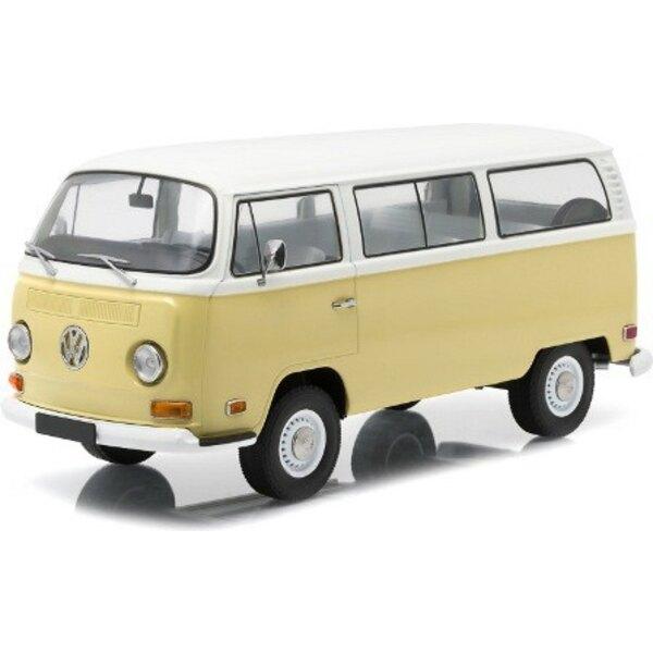T2B VW BUS 1971 BEIGE / WHITE