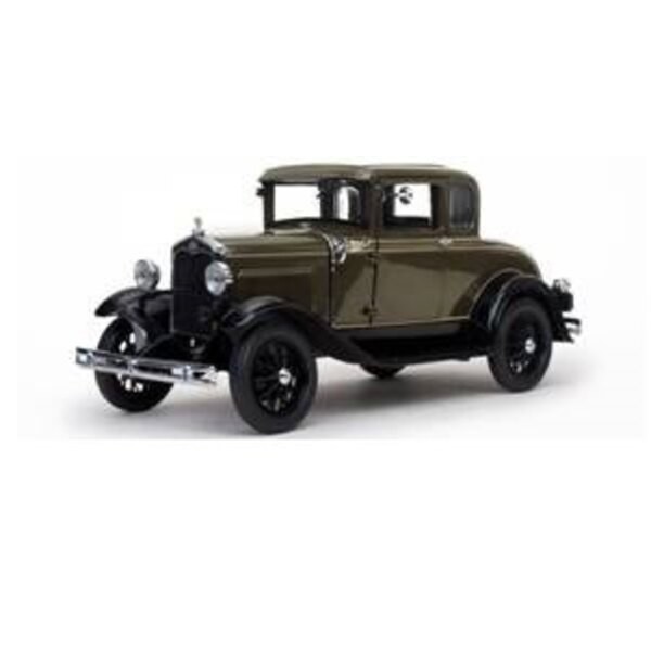 FORD MODEL A COUPE 1931 MARRON