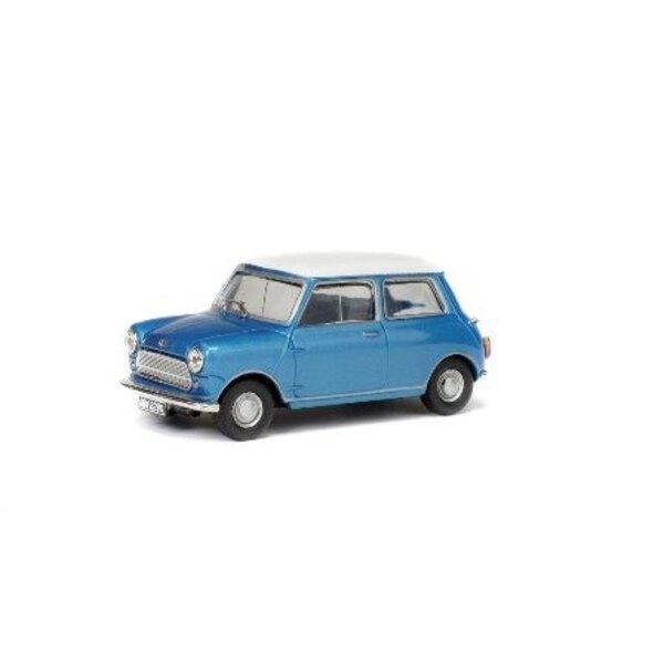 MORRIS MINI COOPER S 1967 BLUE ROOF WHITE