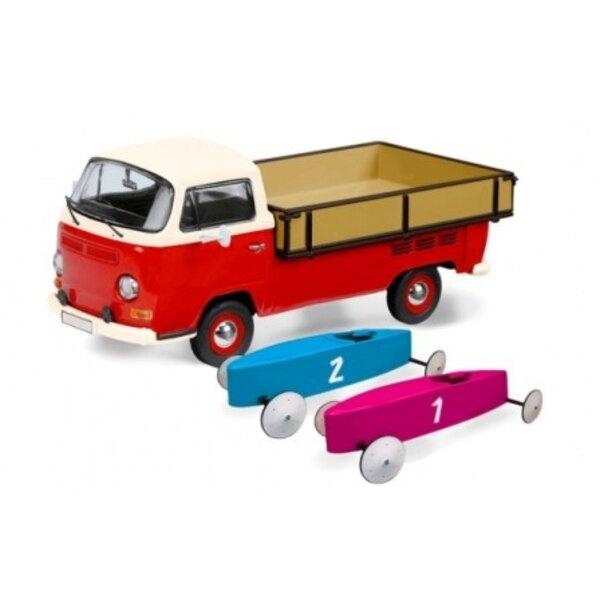 VW T2A DE RECOGIDA DE 2 cajas de jabón