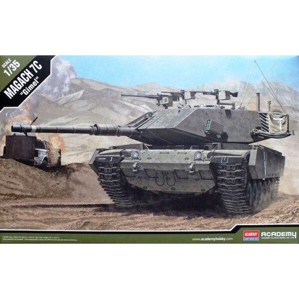 tanque de Magach 7C modernizado Ejército israelí (variante de la M60) y bala -. Nueva torreta, gran cesta de almacenamiento exte