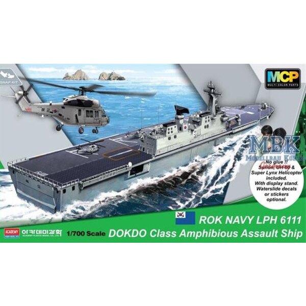 ROKS Dokdo (LPH-6111) Amphibious Assault ShipmDokdo Plate-forme d'atterrissage d'hélicoptères de classe