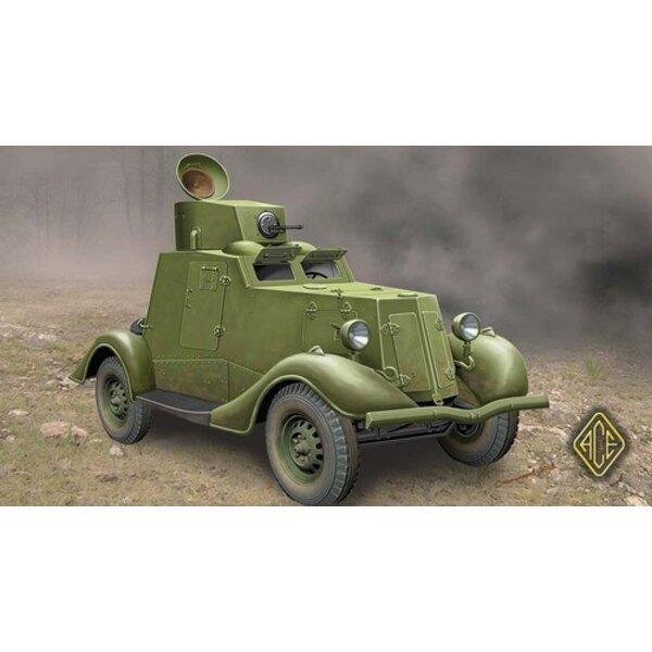 FAI-M luz Soviética coche blindado