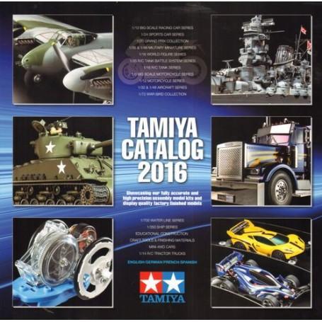 Tamiya 2016 del catálogo de modelos de plástico