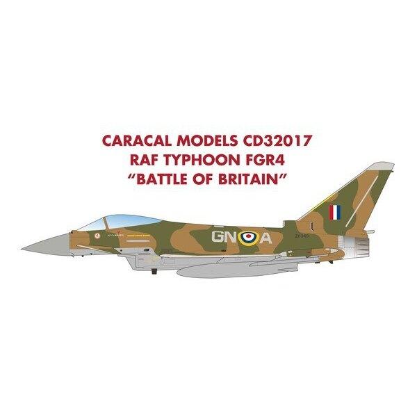 RAF Typhoon FGR4 Batalla de Inglaterra