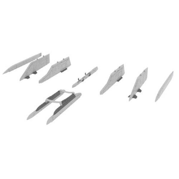 pylônes Lockheed F-104 Starfighter (conçus pour être utilisés avec les kits Hasegawa)) [F-104C / F-104DJ / F-104G / F-104J / F