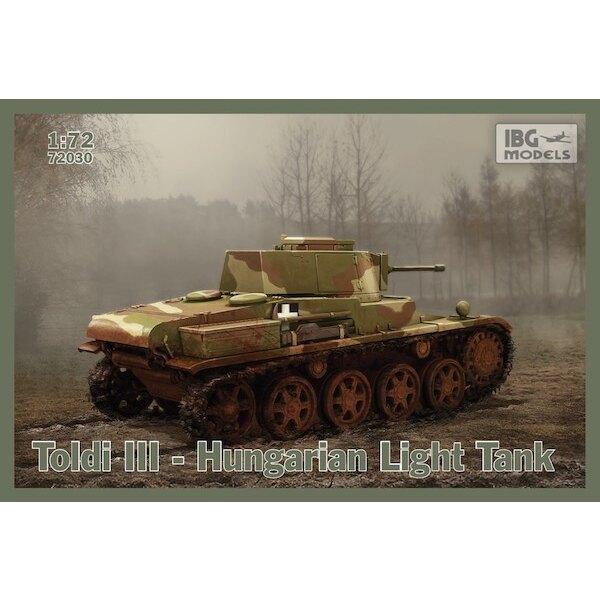 Toldi III Hungarian Light Tank
