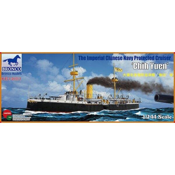 La marine impériale chinoise protégée Cruiser 'Chih Yuen'