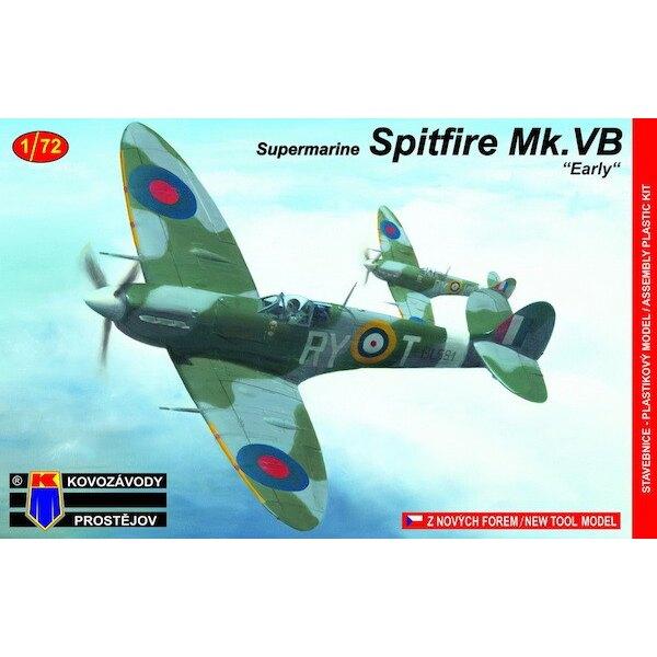 Supermarine Spitfire Mk.Vb temprana de Checoslovaquia Sq.en la Royal Air Force (nuevo utillaje)