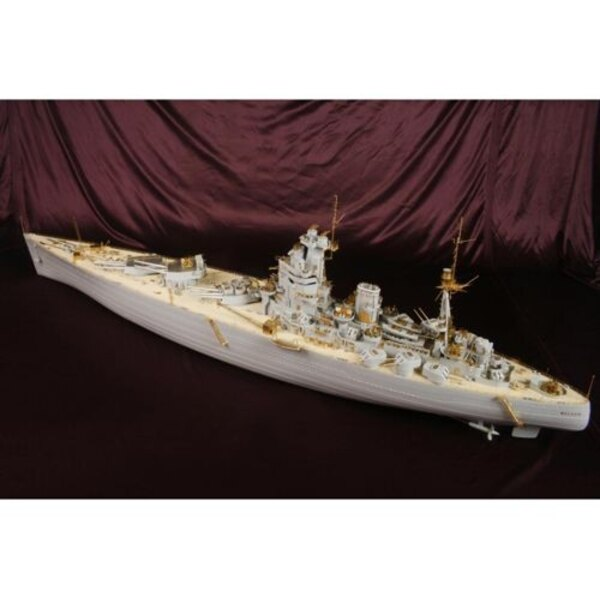 HMS Nelson 1944 VALUE PACK (designed to be used with Trumpeter kits)