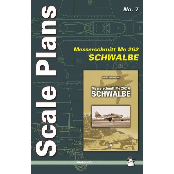 Échelle plans Messerschmitt Me 262A SchwalbeAuthor (s): Dariusz Karnas.Format A3 - Pages - 10 (0) dans la couleur des plans de
