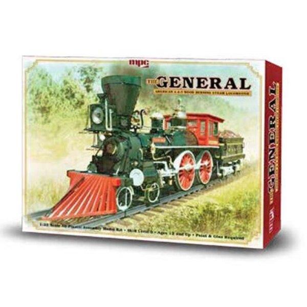 Le Général Kit de Locomotive à vapeur Brûler américaine 4-4-0 Bois
