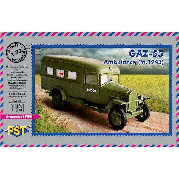 GAZ-55 Ambulancia (m.1943)