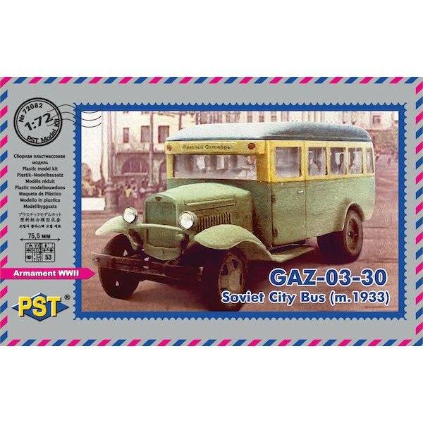 GAZ-03-30 m.1933 . Soviet city bus