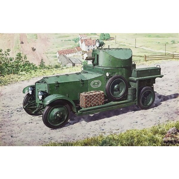 Rolls Royce Armoured Car (1920 Mk.II Pattern)