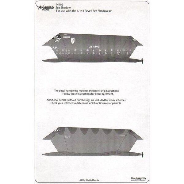 Lockheed Sea Ombre Furtif Boat (conçu pour être utilisé avec les kits Revell)