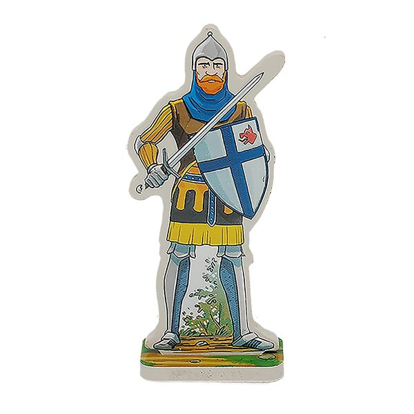 Figurine Godefroy le chevalier