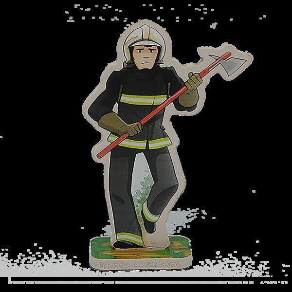 Figurine Luc le pompier
