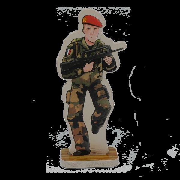 Hugo the paratrooper