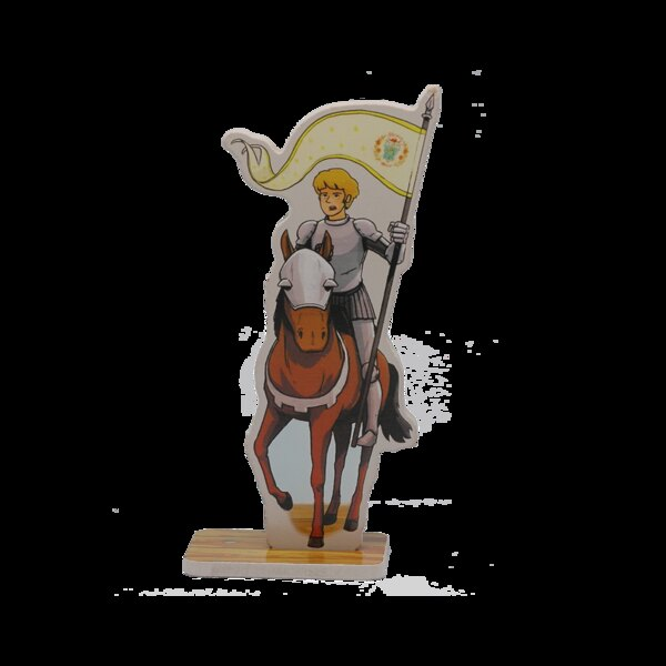 Figurine Jeanne d'Arc