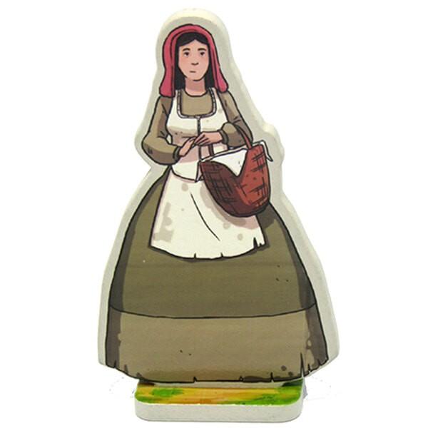 Figurine Violaine la paysanne