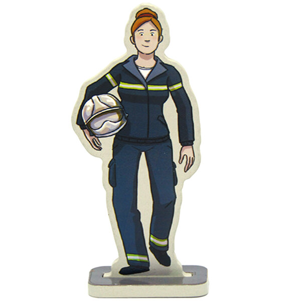 Elodie the firefighter