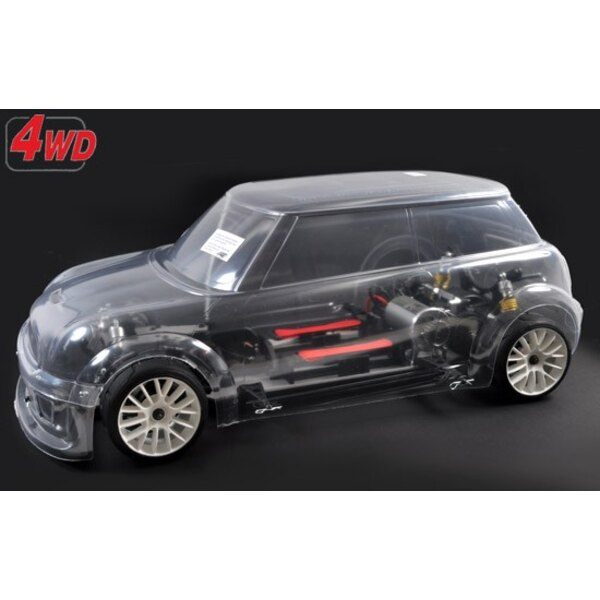 chassis 4wd 510E + carro FG trophy