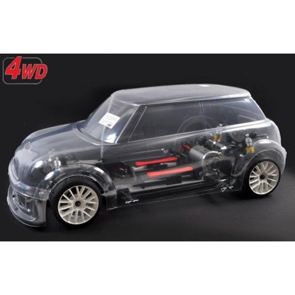 4WD RTR marco 510E + coche.trofeo