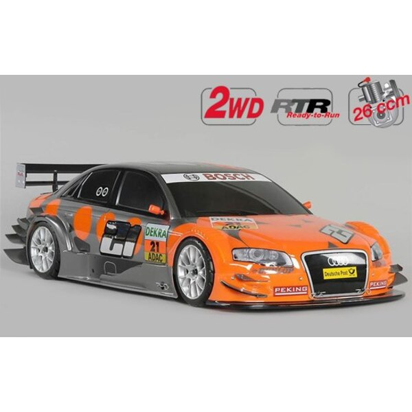 New Chassis 530 2WD RTR + car. Audi