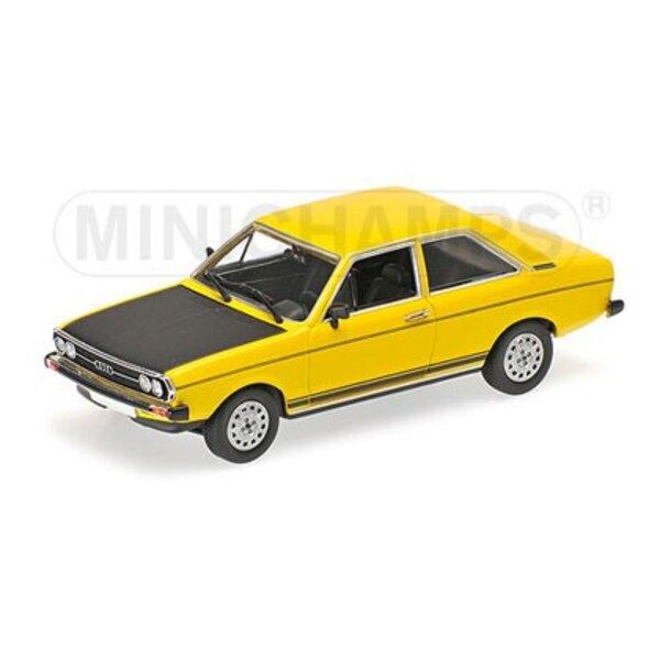Audi 80 GTE 1975 jaune