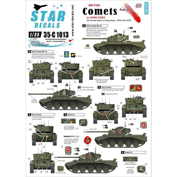 Comets britannique n ° 2.Comètes à Hong Kong.A34 Comet