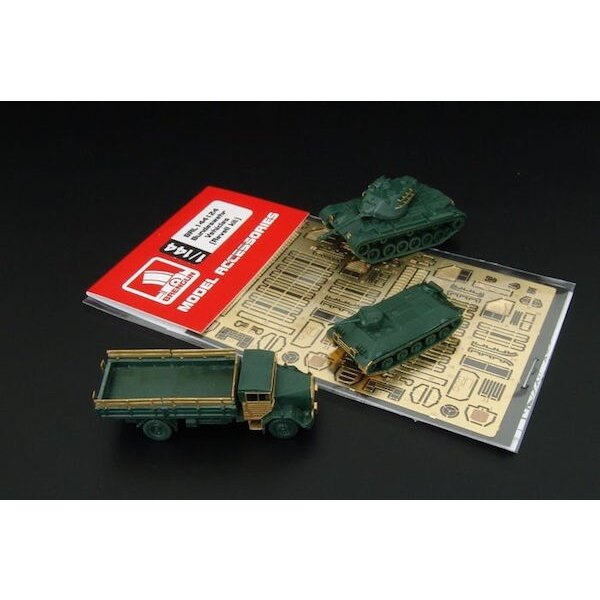 Bundeswehr Vehículos 2 juegos (diseñado para ser utilizado con kits de Revell)
